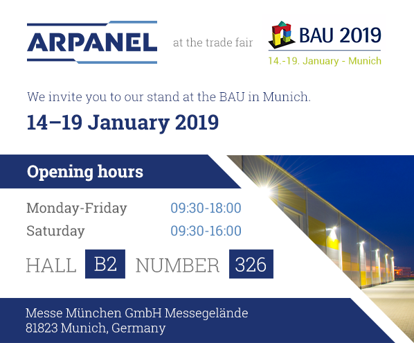 ArPANEL trade fairs 2019